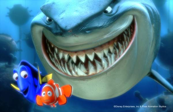 Finding Nemo - Marlin, Dory, and Bruce