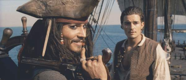 Pirates of the Caribbean: Jack Sparrow & Will Turner close-up